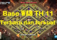 War Base COC TH 11 Terkuat dan Terbaru Update
