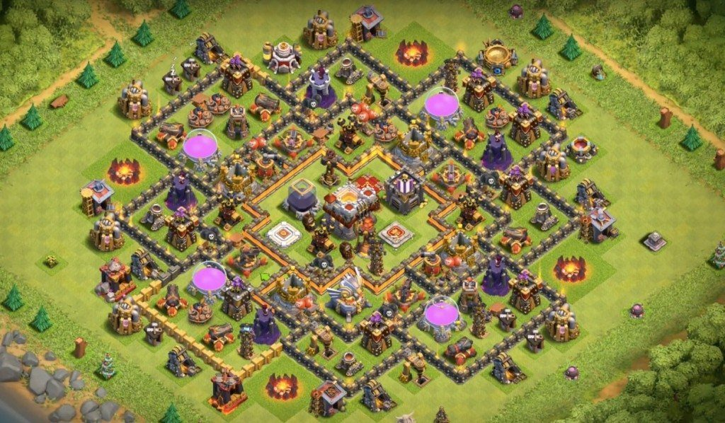 War Base COC TH 11 Terkuat
